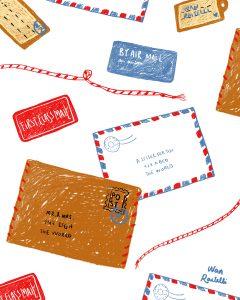 envelopes, pen pals