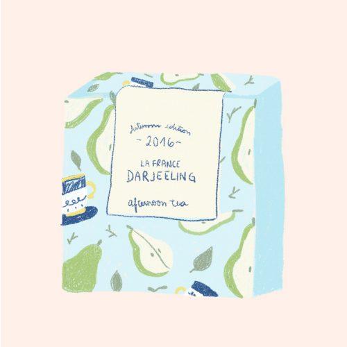 tea darjeeling packaging design